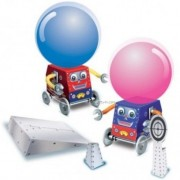 Cosmic Jet Robot by 4M Kidz Labs! For Ages 8+ Construct your own balloon-powered robots! Each fun and educational kit contains all the parts, panels and balloons to make two robots.