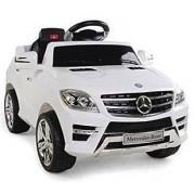 Mercedes ML350 Ride on Car - White