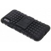 Zwarte Rugged Hybrid Case voor de iPhone Xs / X