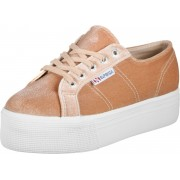 Superga 2790 Velvet Poly Damen Schuhe pink Gr. 36,0
