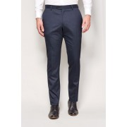 Mens Next Marl Suit: Trousers - Pleat Fit - Navy