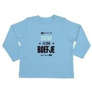YourSurprise Baby T-shirt - Lange mouw - Babyblauw - 50/56