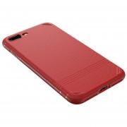 Funda para celular iphone 7plus/8 plus TPU Rojo