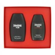 Guy Laroche Drakkar Noir 3.4 oz / 100 mL Eau De Toilette Spray + 3.4 oz / 100 mL After Shave Balm Gift Set Men's Fragrance 43652