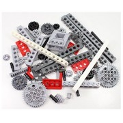 Technic Brick Mix of LEGO and Other (Mindstorms EV3 gear axle beam 68 SET bulk lbs) NICE!