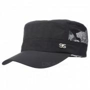 Caminata al aire libre Pesca Hombre y Mujer Sunscreen Sun Hat - Negro