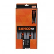 Bahco fit 6 deligschroevendraaierset gleuf ph b219006