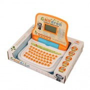 IGP Educational Kids Laptop with LED Display Letter Word Math Music Games Includes Mouse 25 Set Functions