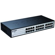 D-Link 24-port 10/100 EasySmart Switch
