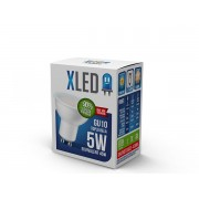 Sijalica LED XLED,GU10, 5W, 022418, toplo bela