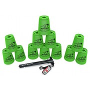 Sport Stacking With Speed Stacks Cups Neon Green (Cup Stacking) Color: Neon Green, Model: 96110, Toys & Play