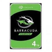 Seagate 4TB BarraCuda SATA 6Gb/s 256MB Cache 3.5-Inch Internal Hard Drive (ST4000DM004) Single Pack