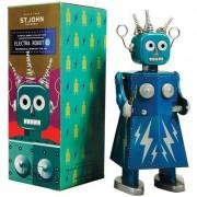 Saint John Retro-Aufziehroboter Electra Robot