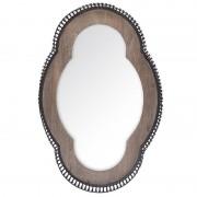 Oglinda din lemn si metal Marseille