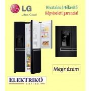 LG GSJ760WBXV side by side hűtőszekrény , door in door technológia , A+ energiaosztály