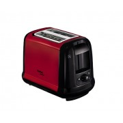 Тостер, Tefal, 850W, 2 holes, 7 degrees setting, the Hi-Lift, Stop, defrosting and toasting, Winered/Black (TT260D12)