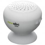 Boxa portabila ABC Tech 134604 Waterproof White