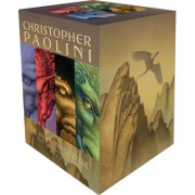 Inheritance Cycle 4-Book Trade Paperback Boxed Set Eragon Eldest Brisingr Inheritance