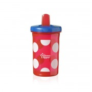 Tommee Tippee Free Flow Super sipper čaša, crvena
