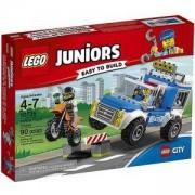Конструктур ЛЕГО Джуниърс - Преследване с полицейски камион - LEGO Juniors, 10735