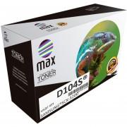 MAXCARTUCHO para SAMSUNG MLT-D104S SCX-3200, ML-1665K, ML-1673, ML-1674, ML-1673 / DCS, ML-1865K, ML-1864K, ML-1861K, ML-1865K 1,500pag TONER