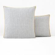 La Redoute Interieurs Fronha de almofada ou de travesseiro, DUOEstampado Cinzento- 63 x 63 cm