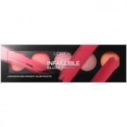 L'Oréal Paris Infaillible Blush Paint paleta de blushes tom The Ambers 10 g