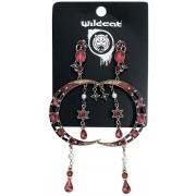 Wildkitten® Moon Eclipse Ohrstecker-Set-multicolor Onesize Damen