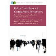 Policy Consultancy in Comparative Perspective. Patterns, Nuances and Implications of the Contractor State, Hardback/Helen M. Gunter