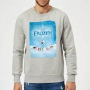 Disney Frozen Snow Poster Trui - Grijs - 4XL - Grijs