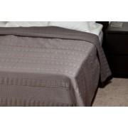 Szatén (poliészter) ágytakaró 235x250 Textrend (00048)