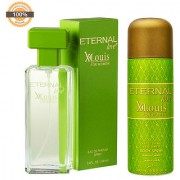 Eternal Love Body Spray Xlouis Women 200ml + Eternal Love Eau De Parfum Xlouis Women 120ml