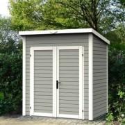 Abri de jardin en bois nordique SKUR 3 peint 3.03 m2
