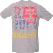 Camiseta Red Bull Brasil Futebol Ondas Gray - P