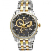 Citizen Round Dial Yellow Stainless Steel Strap Analog Watch for Men - BL8008-52E