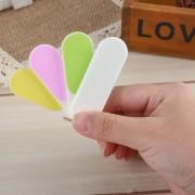 Lima De U?as 4 Pure Color Professional Nail File Portátil
