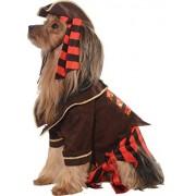 Rubie's Disfraz de Halloween Classics Collection para Mascotas, marrón/Rojo, L