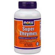 Now Super Enzymes 90 comprimidos