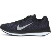 Nike AIR ZOOM WINFLO 5 Running Shoes For Men(Black)