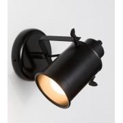 Blinq Tutto wandlamp cylinder e27 zonder lamp zwart
