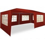 Pawilon Ogrodowy Handlowy 3x6 Namiot Czerwony