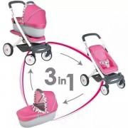 Smoby Maxi Cosi Quinny wózek spacerówka gondola 3w1 ciche koła
