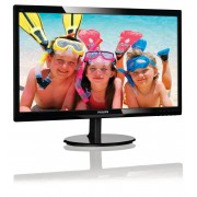 "Philips V-line 246V5LSB - Monitor LED - 24"" - 1920 x 1080 Full HD (1080p) - 250 cd/m² - 1000:1 - 5 ms - DVI-D, VGA - preto text"