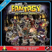 Golden Egg Games Super Fantasy: Ugly Snouts Assault (Second Edition) Board Game