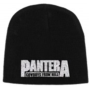 Pantera Cowboys From Hell Embroidered Knitted Ski Hat