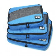 Edge Travel [3 Pack] Packing Cubes Bag Blue