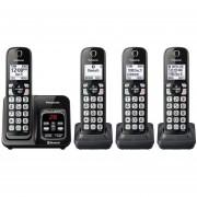 Telefono Inalambrico Panasonic Kx-tgd564m 4 Auriculares