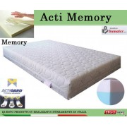 ErgoRelax Materasso Memory Mod. Acti Memory da Cm 85x190/195/200 Antiacaro Antistress Sfoderabile Altezza Cm. 20 - ErgoRelax