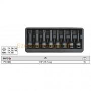 """Yato Torx gépi dugókulcs készlet 1/2"""" 8db-os (YT-1065)"""