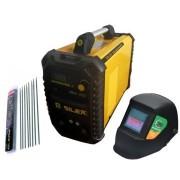 Silex France ® Pack poste à souder 200A + masque de soudure 100KNO + 50 électrodes Silex ®